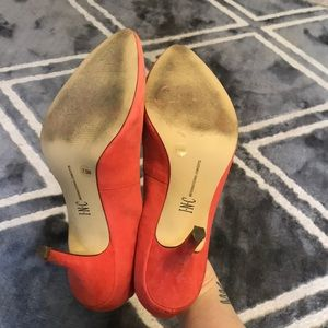 INC International Concepts Shoes - Coral kitten heels